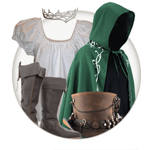 Medieval Clothing and Renaissance Clothing